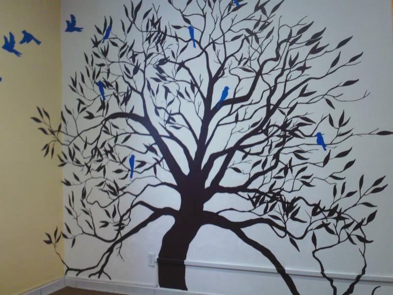 Murales decorativos para interiores y exteriores for Murales decorativos