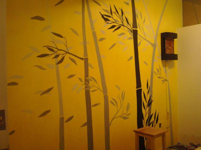 Murales decorativos para interiores y exteriores for Murales decorativos pared baratos