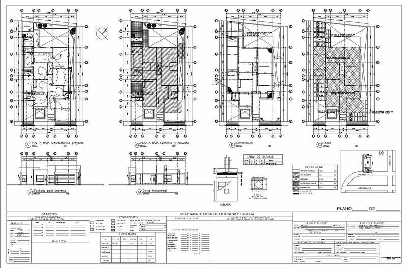 Planos y permisos de construcci n for Planos de construccion