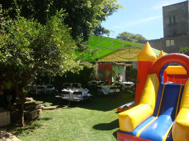 Jardin para fiestas infantiles bosque magico misanuncios - Juegos infantiles para jardin de fiestas ...