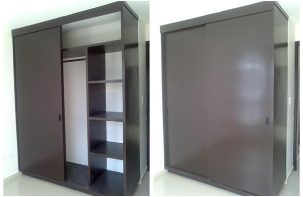 armarios y closets de madera